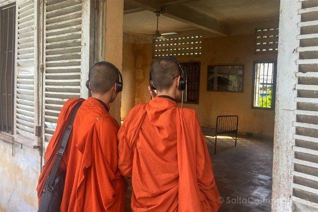 Sorpresas Camboya Turismo Monjes