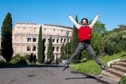 Coliseo de Roma Salto