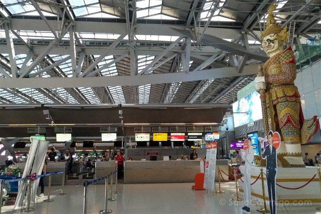 Consejos Bangkok Aeropuerto Suvarnabhumi