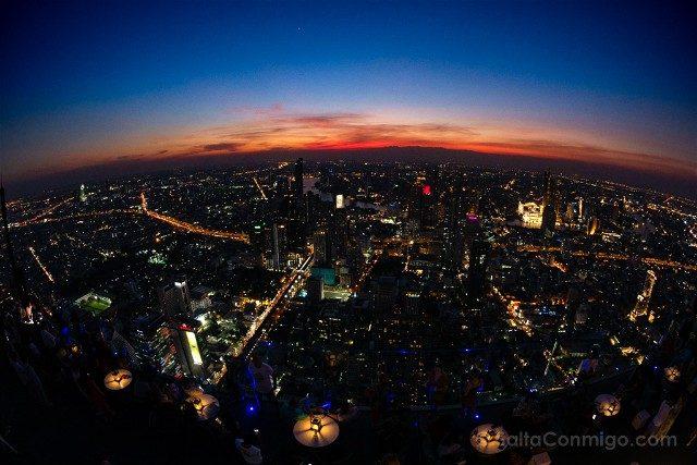 Consejos Bangkok Atardecer Rascacielos