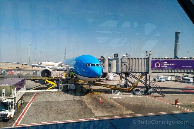 Consejos Bangkok Avion KLM
