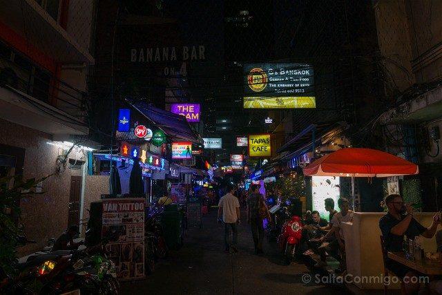 Consejos Bangkok Barrio Rojo