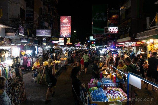 Consejos Bangkok Khao San Road Noche