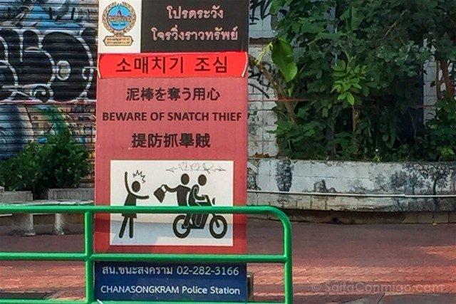 Consejos Bangkok Robos Tiron