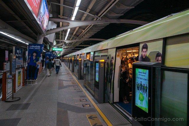 Consejos Bangkok Skytrain