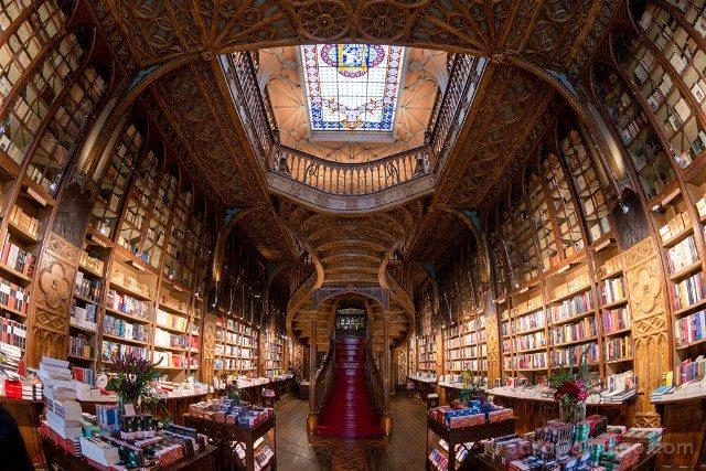 Libreria Lello Oporto Entrada Ojo Pez