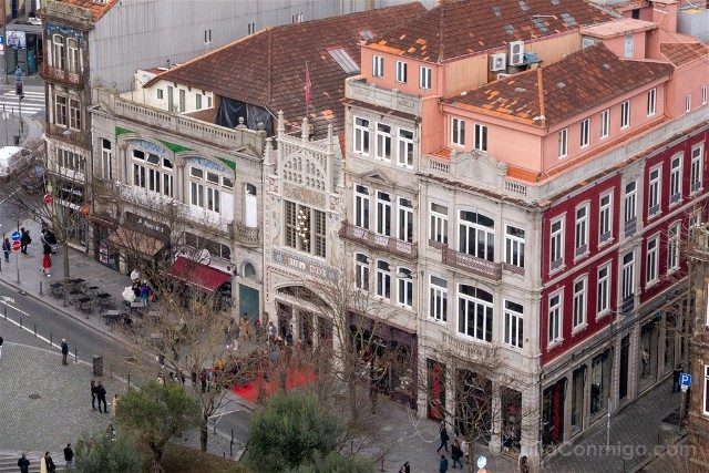 Libreria Lello Oporto Fachada Torre dos Clerigos