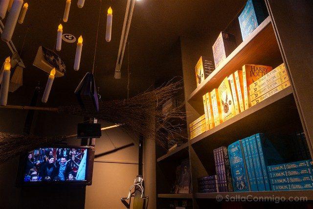 Libreria Lello Oporto Sala Harry Potter