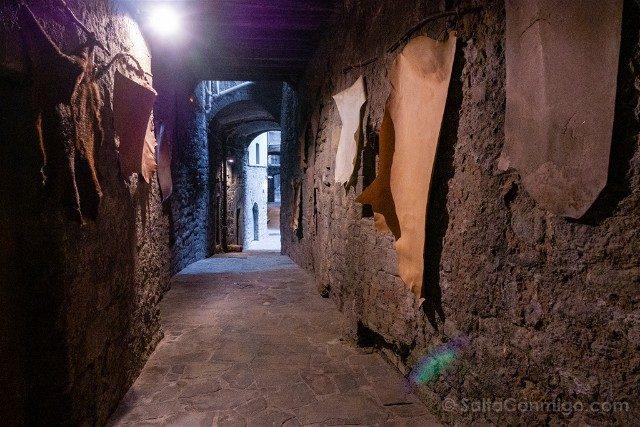 Manresa Medieval Carrer Balc