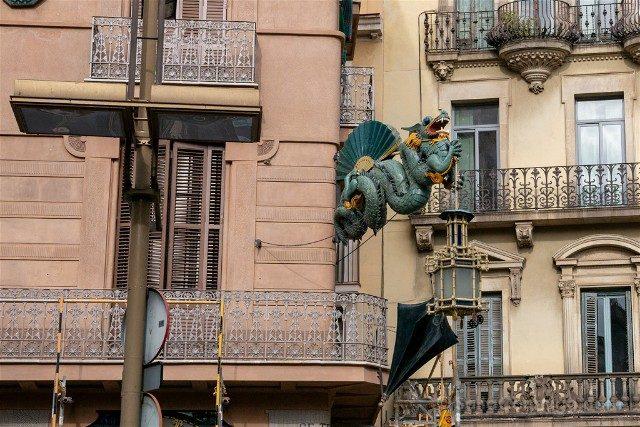 Que Hacer Que Ver en Barcelona Dragon