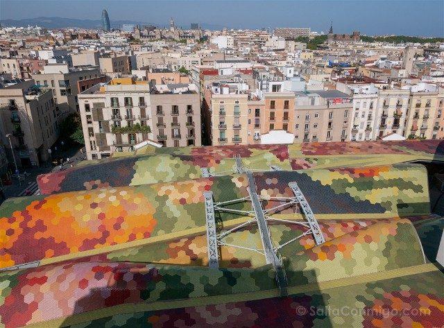 Que Hacer Que Ver en Barcelona Mercado Santa Caterina