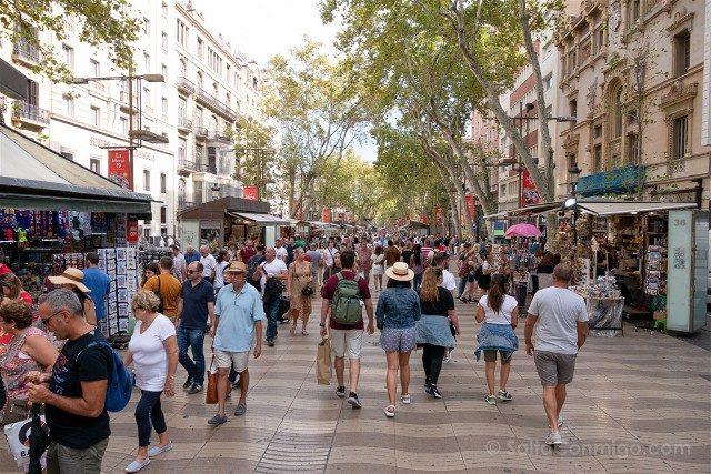 Que Hacer Que Ver en Barcelona Rambla