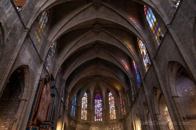 Que Hacer Que Ver en Barcelona Santa Maria del Pi
