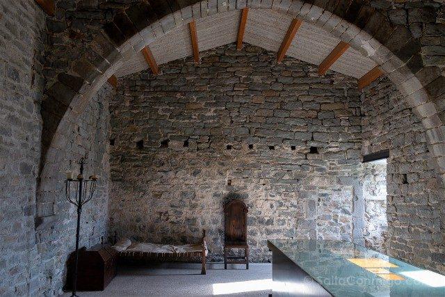 Romanico Barcelona Sant Pere de Casserres DormitorioPrior