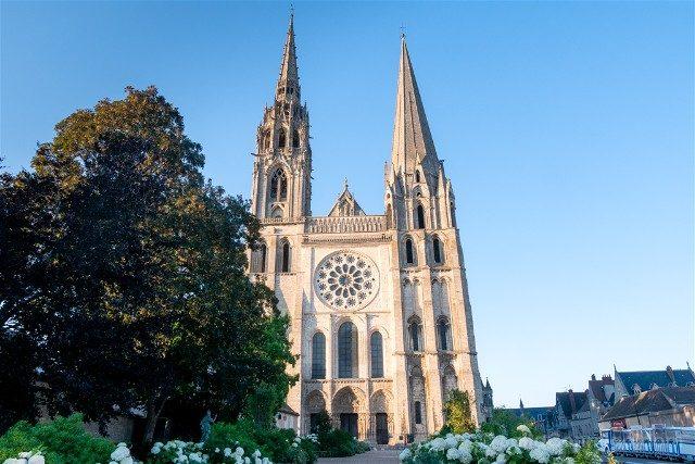 Catedral de Chartres Fachada Principal