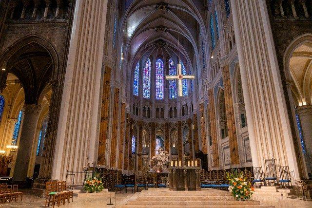 Catedral de Chartres Interior Altar