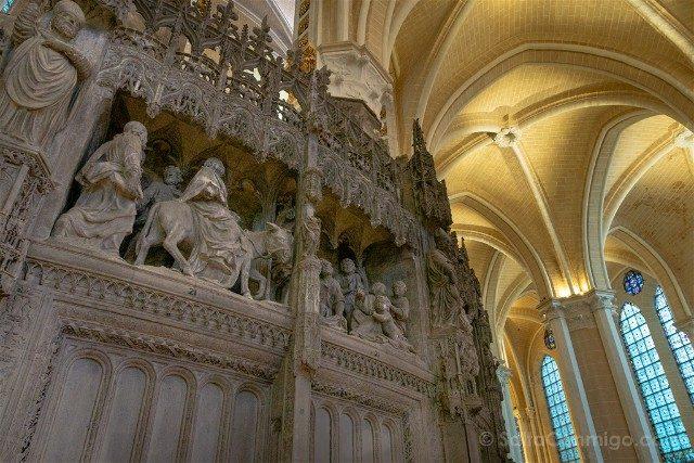 Catedral de Chartres Interior Muro