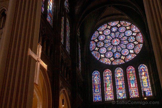Catedral de Chartres Interior Roseton