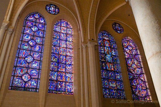 Catedral de Chartres Interior Vidriera Notre Dame Belle Verriere