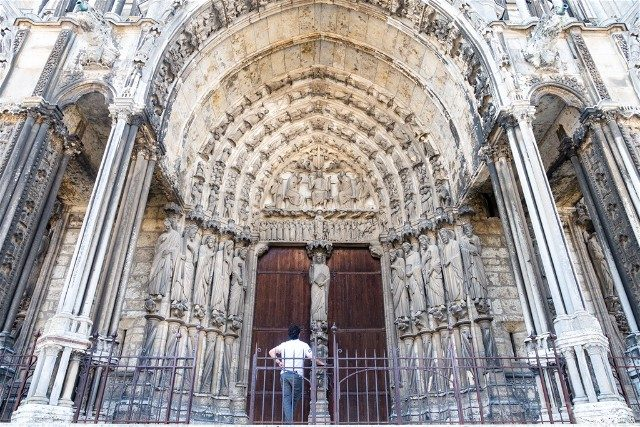 Catedral de Chartres Puerta Sur Exterior