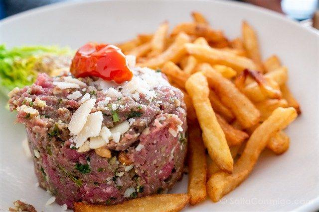 Comer en Chartres Cafe Bleu Tartare