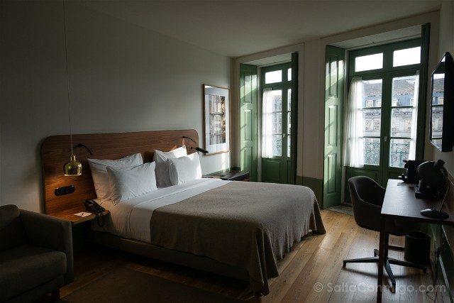Dormir en Oporto Pestana Porto Goldsmith Habitacion