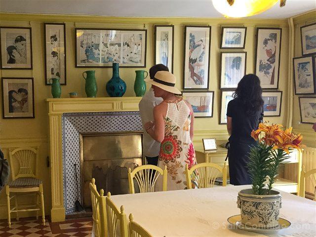 Giverny Casa Sala Estar Amarilla