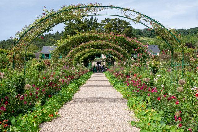 Giverny Jardin Clos Normand