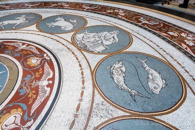 Museo de Dublin Arqueologico Suelo Zodiaco
