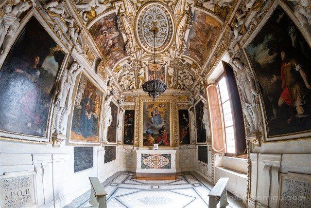Museos Capitolinos Roma Apartamento Conservatori Capilla
