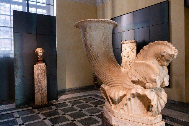 Museos Capitolinos Roma Fuente Cuerno Potorio
