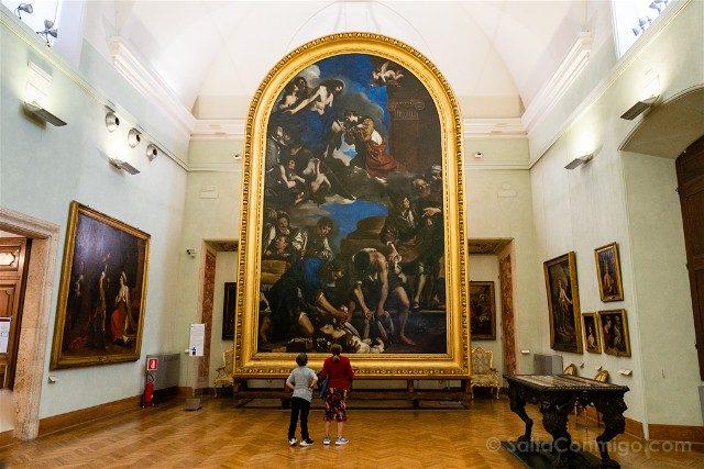 Museos Capitolinos Roma Guercino Seppellimento Gloria Santa Petronilla