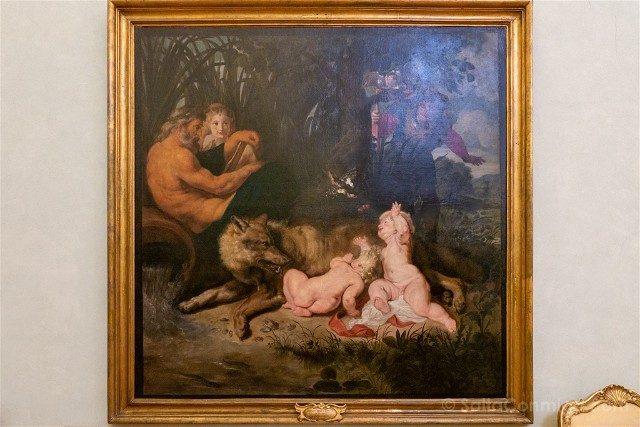 Museos Capitolinos Roma Rubens Romulo Remo