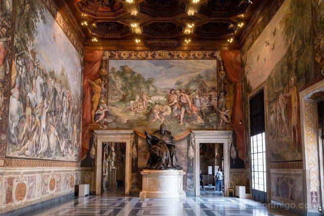 Museos Capitolinos Roma Sala Horacios Curiacios