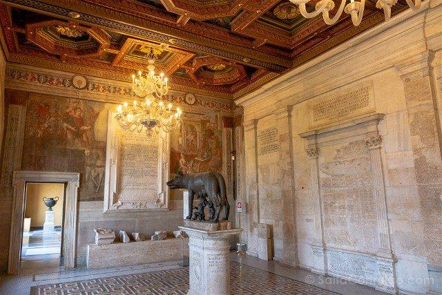 Museos Capitolinos Roma Sala Loba Capitolina