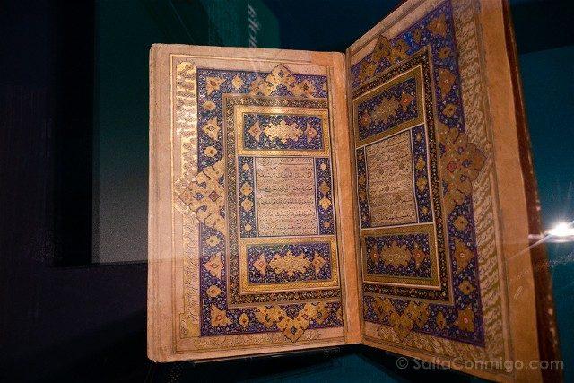 Museos de Dublin Chester Beatty Library Coran