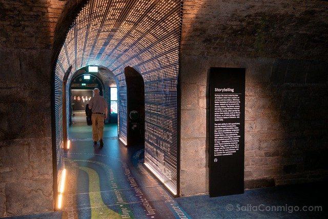 Museos de Dublin EPIC Pasillo