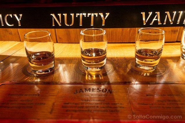 Museos de Dublin Jameson Distillery Cata