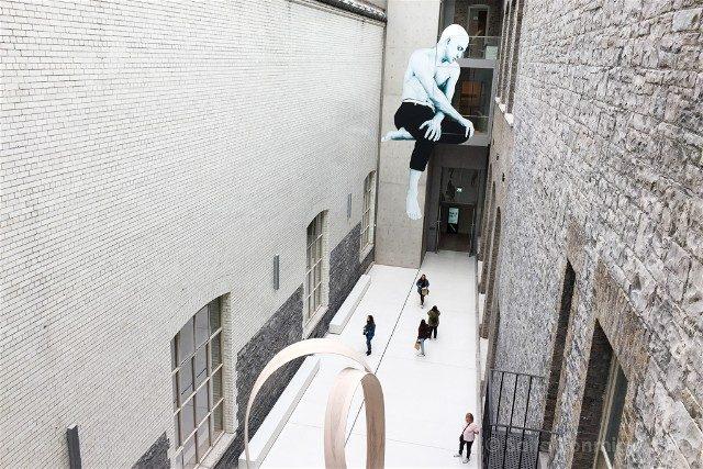 Museos de Dublin National Gallery Patio