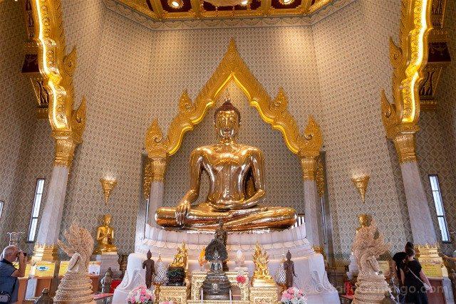 Que Ver En Bangkok Wat Traimit Buda Oro