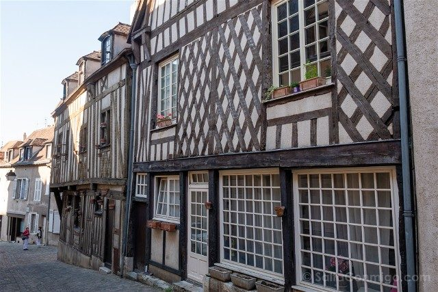 Que Ver en Chartres Casas Entramado Madera