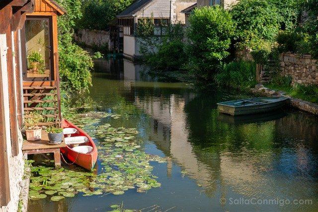 Que Ver en Chartres Ciudad Baja Barca