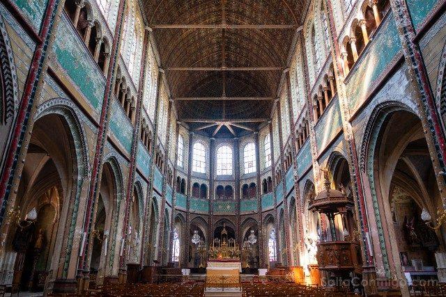 Que Ver en Chartres Iglesia Saint Aignan Interior