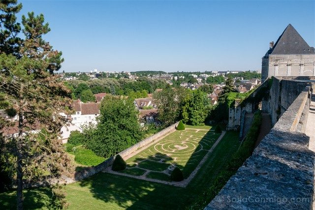 Que Ver en Chartres Jardins Eveche