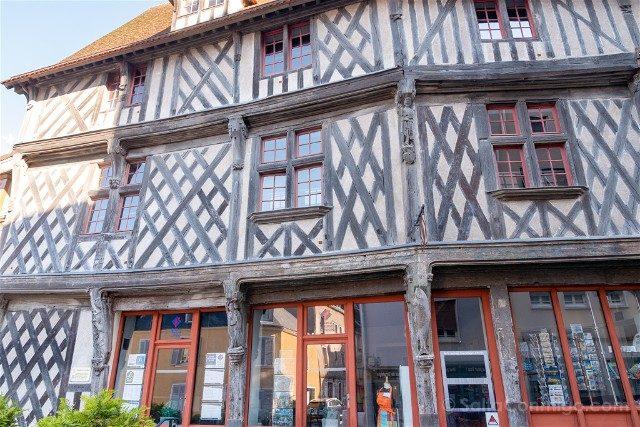 Que Ver en Chartres Maison Saumon Oficina Turismo