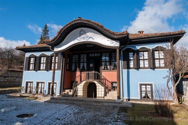 Que Ver en Koprivshtitsa Casa Lyutov Fachada