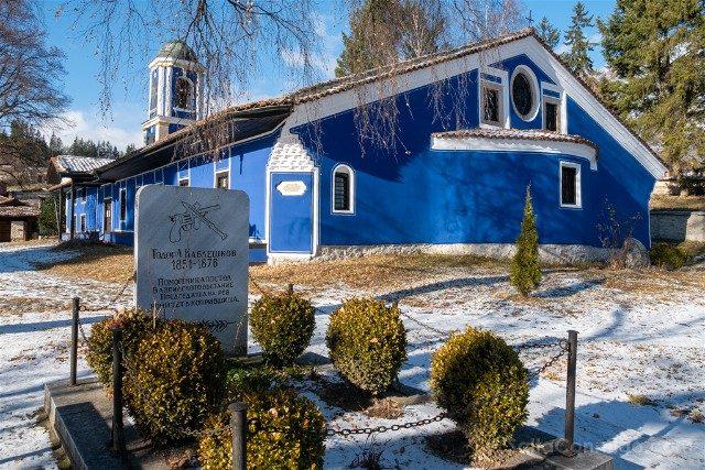 Que Ver en Koprivshtitsa Iglesia Dormicion Virgen