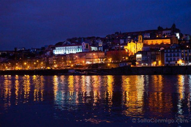 Que Ver en Oporto Gaia Vista Noche