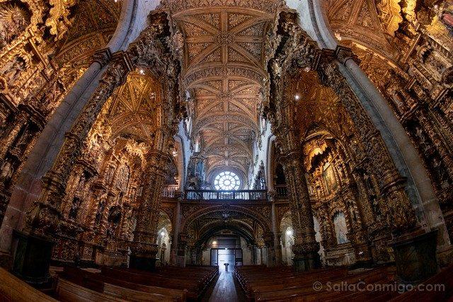 Que Ver en Oporto Iglesia San Francisco Interior