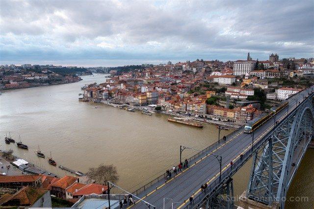 Que Ver en Oporto Miradouro Serra Pilar Dia